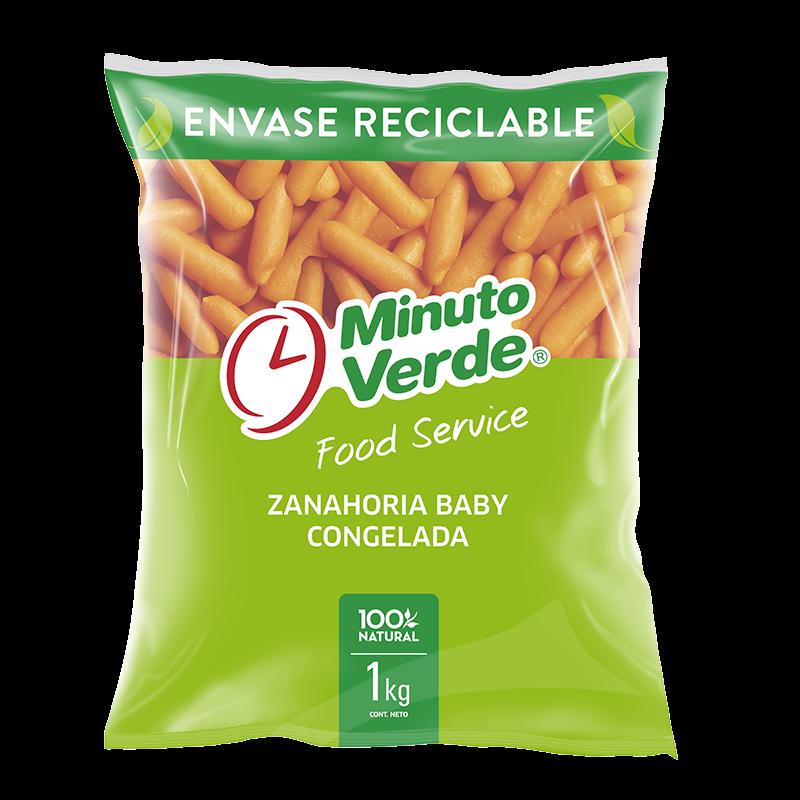 Zanahoria baby Minuto Verde 1 Kg
