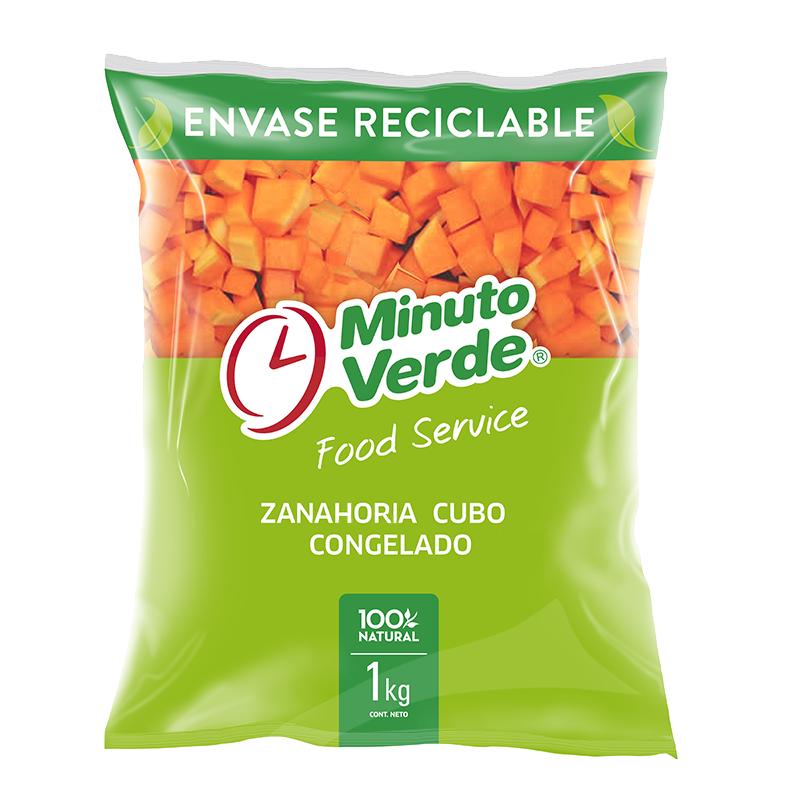 Zanahoria cubo Minuto Verde 1 Kg