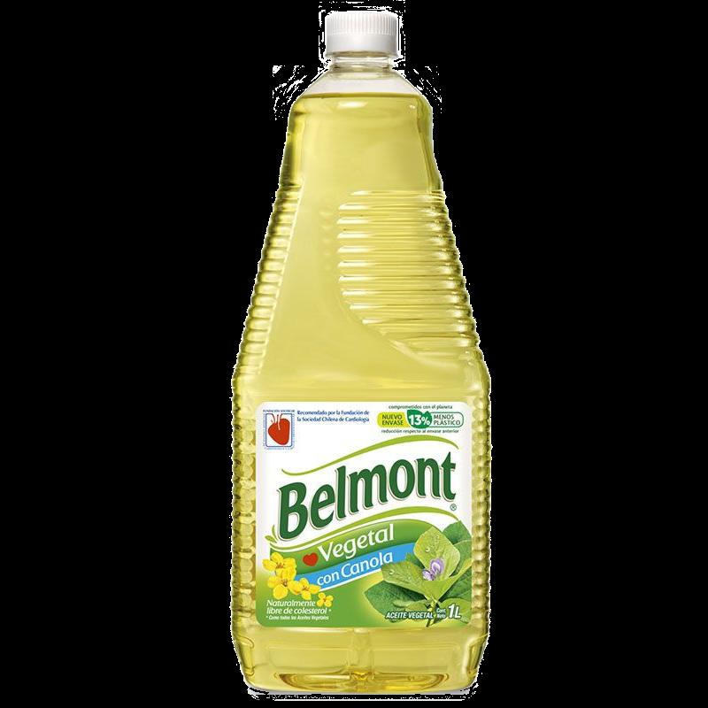 Aceite vegetal con canola Belmont 1 L