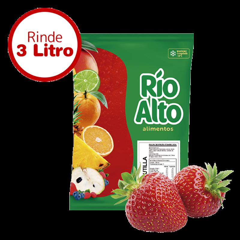 Pulpa de frutilla Río Alto 1 K