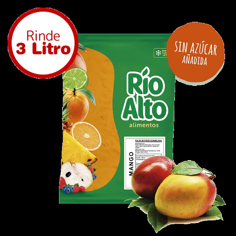 Pulpa de mango sin azúcar Río Alto 1 K