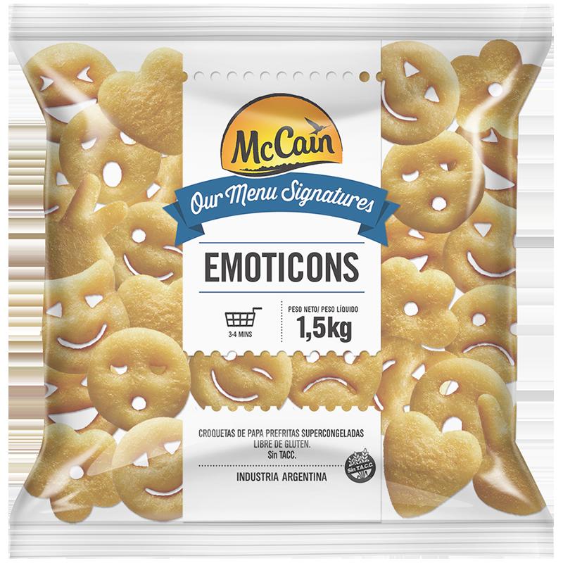 Papas Emoticones McCain 1,5kg