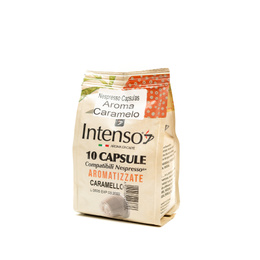 CAFÉ NESPRESSO CAPSULAS AROMA CARAMELO  10X5 GRS.