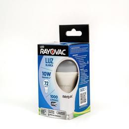 RAYOVAC, AMPOLLETA LED 10W FRIA