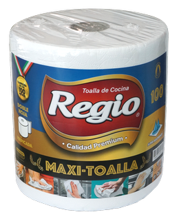 REGIO, TOALLA COCINA MAXI 100mts