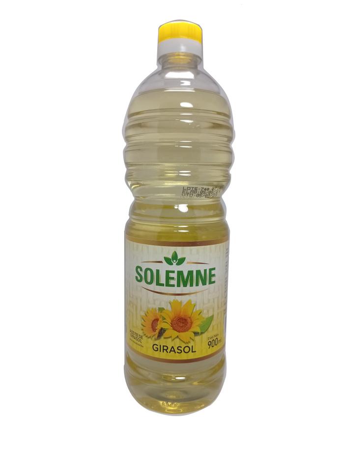 SOLEMNE, Aceite de Maravilla 900cc - Solemne Girasol no profesional.jpg