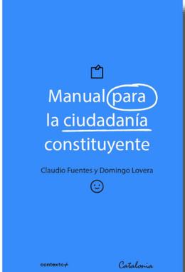 MANUAL PARA LA CIUDADANIA CONSTITUYENTE