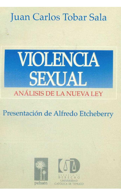 VIOLENCIA SEXUAL. ANALISIS DE LA NUEVA LEY - 9789561603196.jpg