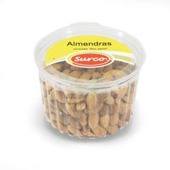 Almendras Naturales  Caja 12 Potes * 300 gr