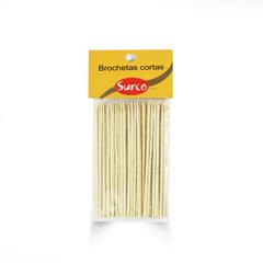 Brochetas Cortas Caja 2 Pack *15 Bol.* 100 Un.