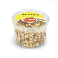 Maní Con Pasas  Caja 12 Potes * 300 gr