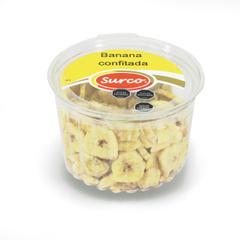 Banana Confitada  Caja 12 Potes * 150 gr