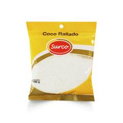 Coco Rallado Blanco Caja 2 Pack * 10 Un. * 100 gr