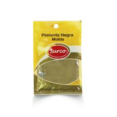 Pimienta Negra Molida  Caja 10 * Pack 10 * 15 gr